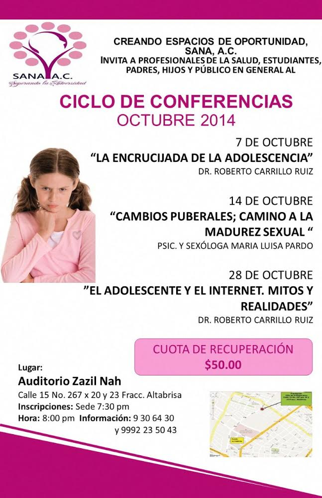 SANA CICLO CONFERENCIAS